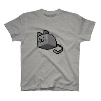 はこねこ(ドット) T-shirts