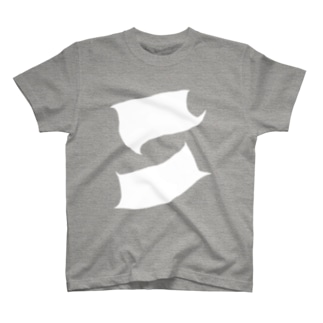 二つの布 T-shirts