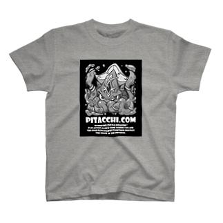 ピタッチ! クラーケン T-shirts