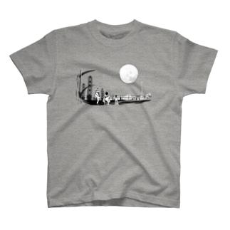 映像作品「ソラ・クモ・クロ」イラスト T-shirts