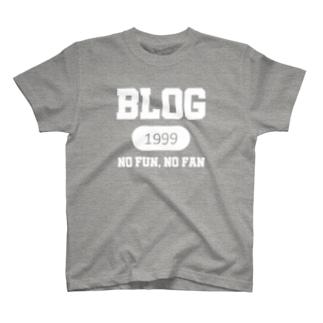 ブログ(白) T-shirts