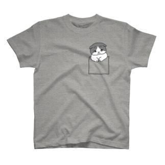 ポケ猫 T-shirts