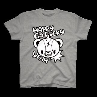 bAbycAt イラストレーションのBrat Bear T-shirts