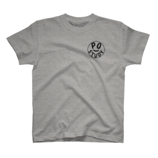PO Study(Black) T-shirts