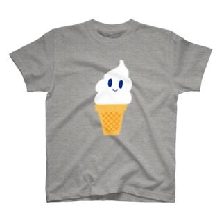 ソフトさんミルク味 T-shirts