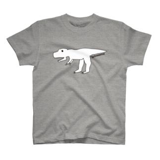 【もうすぐ5歳のイラストレーター】が描いたタルボサウルス T-shirts