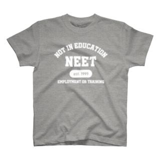 NEET(白) T-shirts