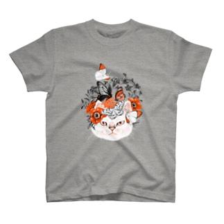 不機嫌猫 T-shirts