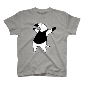 威嚇するコアリクイ T-shirts