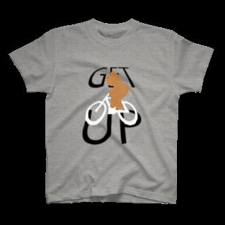 十円ショップのGET UP! T-shirts