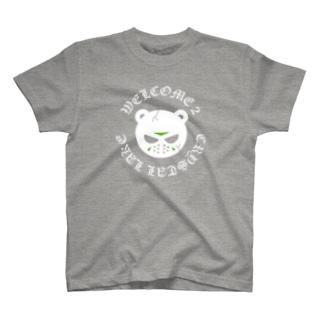 スプラッターベアcrystal lake T-shirts
