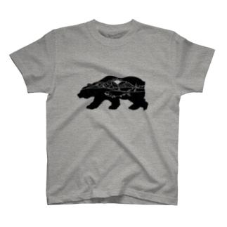 ヒグマT T-shirts