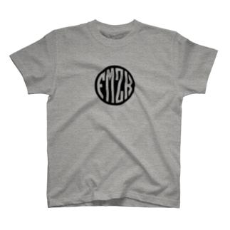 FMZK○LOGO(BlackBase) T-shirts
