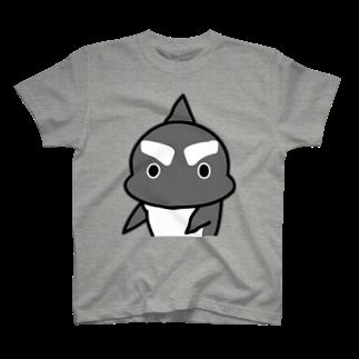 茶番亭かわし屋の「まじか」 #シャチくん T-shirts