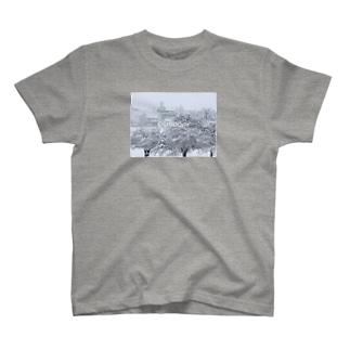 おしどり_豪雪 T-shirts
