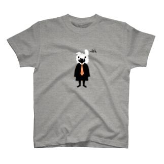 電波を感知 T-shirts