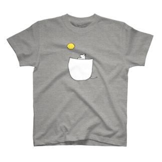ポケットから月 T-shirts