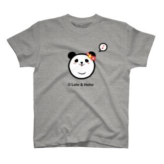 Panda Lele&HeheのTシャツ(Hehe) T-shirts