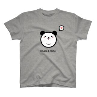 Panda Lele&HeheのTシャツ(Lele) T-shirts