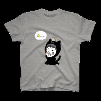 ほっかむねこ屋@ 1/6→1/12  にゃんこ展 / 原宿デザフェスギャラリーのオーダー品 Tシャツ