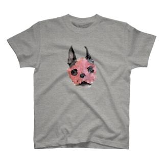 むにむに葉っぱ仮面2 T-shirts