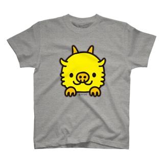 うまれたてのちびりゅーあっぷ T-shirts