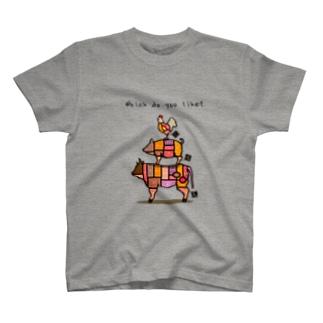 みんなの部位 T-shirts