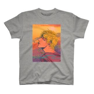 黄昏夕日 T-shirts