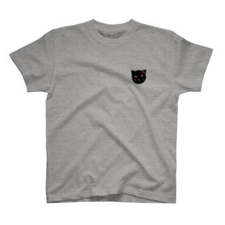 ニャンちゃんと金魚♪ T-shirts
