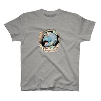 ガタゴロウ5周年記念 T-shirts