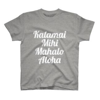 ホ・オポノポノ ジャケ(wh) T-shirts