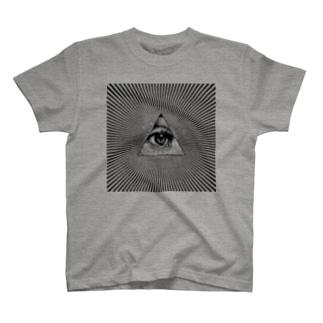 Illuminati eye T-shirts