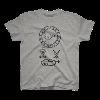metao dzn【メタをデザイン】のTHE SEAL OF LUCIFER T-shirts