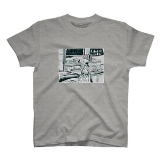 ダイナーにて T-shirts