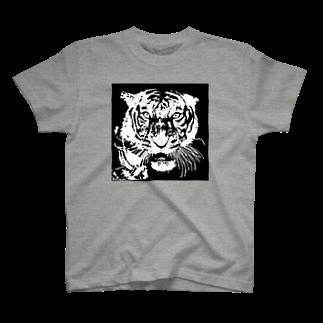 TIGER_LEEのブルース・リー先生 お気に入りの寅 🐯 T-shirts