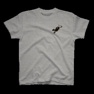 NM商会NAGオリジナルTシャツのワンポイントタトゥー T-shirts