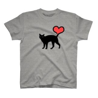 ハートしっぽ T-shirts