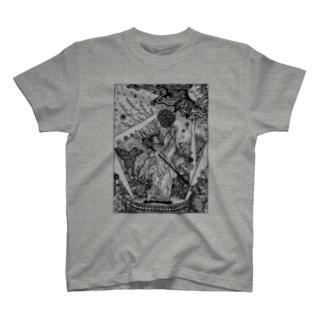 アメノウズメ T-shirts