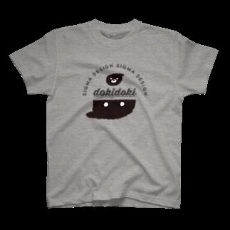 azu_sigmadesignのしぐま でざいん T-shirts