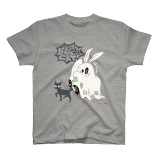 冥土の兎 BlackCat編 T-shirts