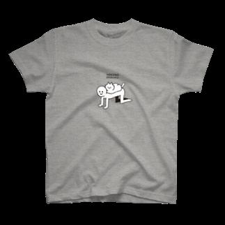 995(キュウキュウゴ)のNEKONO GEBOKU T-shirts