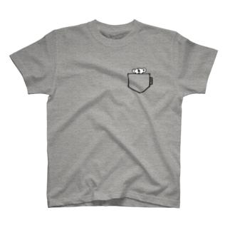 ニキータinポケット T-shirts