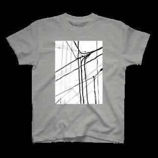 gem's companyの電線1 T-shirts