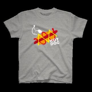 YONEYAのHOT DOG DOG T-shirts