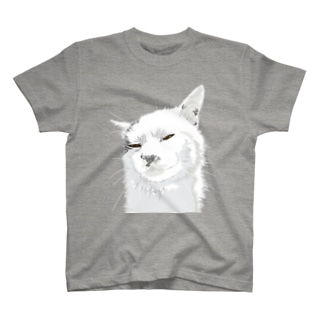 アルパカのような猫 T-shirts
