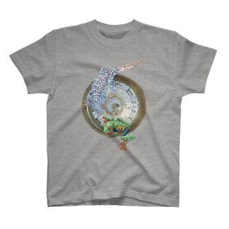 Gekko geckoはTokay T-shirts