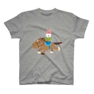 団子とガルチTシャツ T-shirts