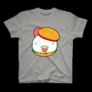 タケトリの籠のチキンバーガー T-shirts
