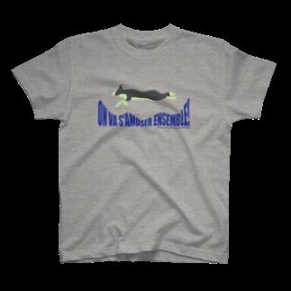 Witapin Wonderlandの楽しも!ボーダー T-shirts
