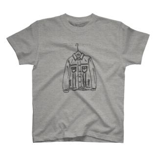 デニムのジャケット T-shirts